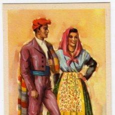 Postales: BONITA POSTAL - GERONA - PAREJA CON TRAJE REGIONAL. Lote 16363366