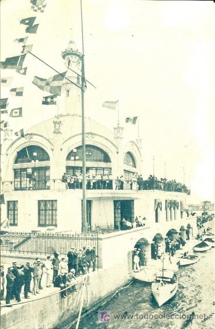 PS3037 REAL CLUB MARÍTIMO DE BARCELONA. POSTAL MARÍTIMA PATRIÓTICA / PROPAGANDA PATRIÓTICA (Postales - España - Cataluña Antigua (hasta 1939))