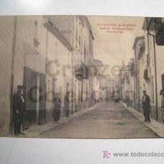 Postales: SANTA COLOMA FARNES: CARRER ANSELMO (ANSELM) CLAVE - POSTAL. Lote 15162001