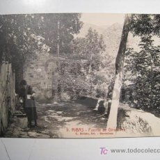 Postales: POSTAL RIBAS: FUENTE DE GIRAFULLES (ROISIN 9). Lote 15163320