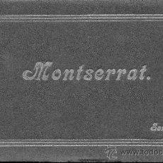 Postales: MONTSERRAT. CUADERNO CON 12 POSTALES. BIEN CONSERVADO. VER FOTOS ADICIONALES.. Lote 27138984