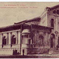 Postales: PUIGCERDÁ (GERONA) : EL CASINO. PHOTOTYPIE LABOUCHE FRÉRES. CIRCULADA (AÑOS 30). Lote 24664060
