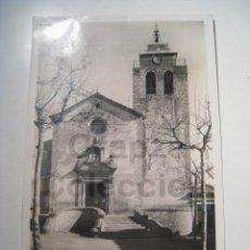 Postales: POSTAL AMETLLA VALLES: IGLESIA. Lote 15231649