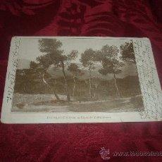 Postales: BARCELONA TIBIDABO VISTA DE VALLVIDRERA. Lote 15253484