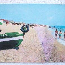 Postales: MALGRAT DE MAR, PLAYA. SAVIR. . Lote 26103684