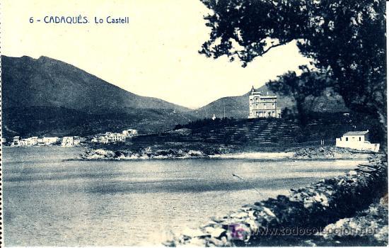 PS1302 CADAQUÉS 'LO CASTELL'. ED. IVO SALA. SERIE 11. 1926. SIN CIRCULAR (Postales - España - Cataluña Antigua (hasta 1939))