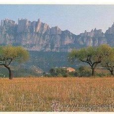 Postales: MONTSERRAT - LA SERRA D'OR DESDE LA COMARCA DEL BAGES. Lote 15546586