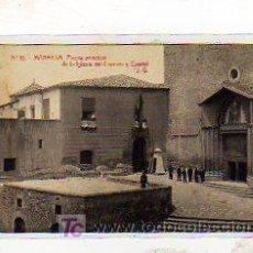 Postales: BARCELONA. MANRESA. NUM. 10. PUERTA PRINCIPAL DEL LA IGLESIA DEL CARMEN Y CUARTEL. J.G. THOMAS.. Lote 15586771
