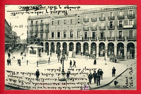 REUS, TARRAGONA, PLAZA DE PRIM , P31.075 (Postales - España - Cataluña Antigua (hasta 1939))