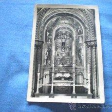 Postales: POSTAL MONTSERRAT TRONO DE LA SMA. VIRGEN NO CIRCULADA. Lote 15690134