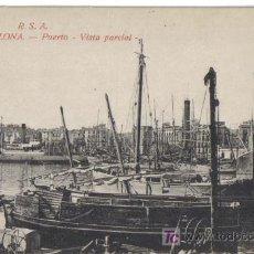 Postales: BARCELONA, PUERTO, VISTA PARCIAL . Lote 25862467