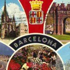 Postales: BARCELONA - DIVERSOS ASPECTOS. Lote 15815537