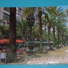Postales: LLORET DE MAR. COSTA BRAVA. EDIT. ESCUDO DE ORO. Lote 15815544