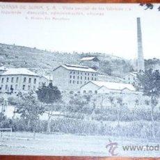 Cartoline: POSTAL MINAS DE POTASA - SURIA ( BARCELONA ). Lote 22130666