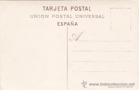 Postales: BARCELONA: CASAS CONSISTORIALES: TARJETA POSTAL Nº 33 DE SAMSOT Y MISSÈ, SIN USAR. - Foto 2 - 15909515