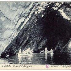 Postales: BONITA POSTAL - TOSSA (GERONA) - COVA DEL BERGANTI. Lote 16035896