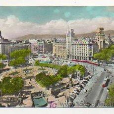 Postales: BARCELONA. PLAZA CATALUÑA. (ED. ZERKOWITZ). Lote 16073595