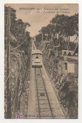 BARCELONA. FUNICULAR DEL TIBIDABO. (Postales - España - Cataluña Antigua (hasta 1939))