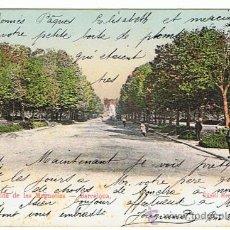 Postales: POSTAL DE BARCELONA - PARQUE, AVENIDA DE LAS MAGNOLIAS, EDIT. K.H.B. SELL. Y RESELL. 1905 . Lote 26440157