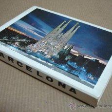 Postales: LIBRO ACORDEON 12 POSTALES BARCELONA - TEMA GAUDI - ¡¡ AÑOS 70S ¡¡ 105 X 7.5 CMS. Lote 23136878