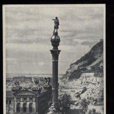 Postales: TARJETA POSTAL ANTIGUA DE BARCELONA. MONUMENTO A COLON. Nº 74. ZERKOWITZ.. Lote 16338700