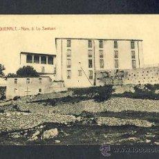 Postales: POSTAL DE BERGA (BARCELONA): QUERALT, EL SANTUARI ES.ANGEL TOLDRÀ VIAZO). Lote 16352252
