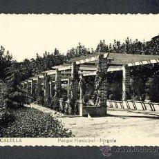 Postales: POSTAL DE CALELLA (BARCELONA): PARC MUNICIPAL, PERGOLA (NUM.14). Lote 16352624