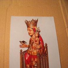 Postales: POSTAL DE BERGA. SANTA MARÍA DE QUERALT O VIRGEN DE QUERALT. SIN CIRCULAR. S-184. Lote 16564894