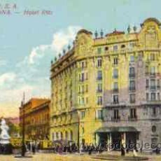 Postales: BARCELONA - HOTEL RITZ. Lote 16565086