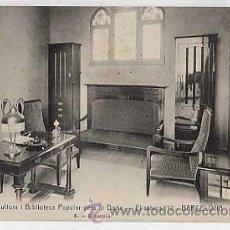 Postales: BARCELONA. INSTITUT DE CULTURA I BIBLIOTECA POPULAR PER LA DONA. DIRECCIÒ... ED. ANDRES FABERT. Lote 16572672