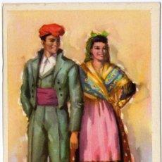 Postales: BONITA POSTAL - BARCELONA - PAREJA CON TRAJE REGIONAL . Lote 16646267