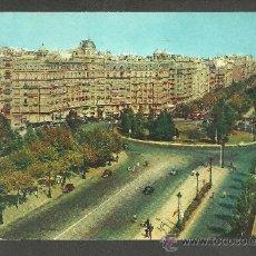 Postcards - BARCELONA - plaza calvo sotelo y avda. generalisimo - zerkowitz - circulada - 16690128