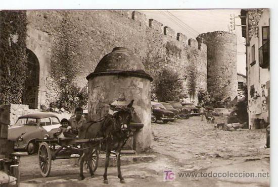 TOSSA DE MAR .GERONA - C.BRAVA Nº 10928 FOTOGRAFICA- ZERKOWITZ- DIST. CONDOMINES - VELL I BELL (Postales - España - Cataluña Moderna (desde 1940))