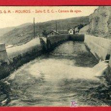 Postales: MOLINOS, LERIDA, CAMARA DE AGUA, P33789. Lote 16888274