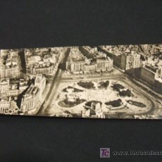 Postales: TARJETA POSTAL PANORAMICA - PLAZA DE CATALUÑA DESDE EL AIRE - BARCELONA -. Lote 16922006
