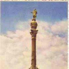 Postales: BARCELONA - MONUMENTO A COLON. Lote 16926861