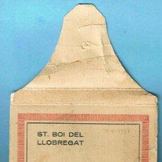 Postales: POSTALES ST. BOI DE LLOBREGAT. 24 FOTOS (MINIATURES). EDICIONS ALFONS ZERKOWITZ, FOTÒGRAF. BCN, 1934. Lote 25675095