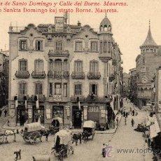 Postales: MANRESA-BARCELONA. Lote 17002634
