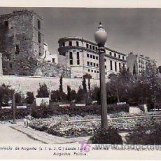 Postales: TARRAGONA-Nº45 PALACIO DE AUGUSTO DESDE JARDIN MÁRTIRES.. ED. DEGEY. Lote 25430636