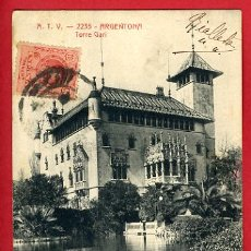 Postales: ARGENTONA, BARCELONA, TORRE GARI, ATV-2235, P35292. Lote 17302466