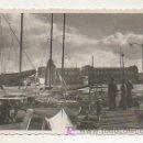 Postales: MUELLE DE BARCELONA. 1949. 13,5 X 8,5 CM. . Lote 17322345