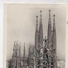 Postales: BARCELONA. TEMPLO DE LA SAGRADA FAMILIA. ORIOL. CIRCULADA. Lote 17349502