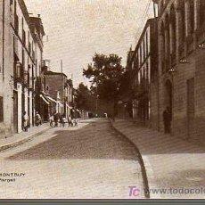 Postales: POSTAL DE CALDAS DE MONTBUY -TERMAS VICTORIA -CALLE PI Y MARGALL. Lote 23250953