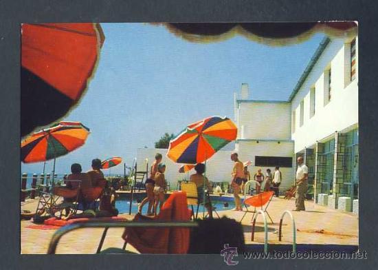 POSTAL D' ALCANAR (TARRAGONA): HOTEL MONTECARLO (Postales - España - Cataluña Moderna (desde 1940))