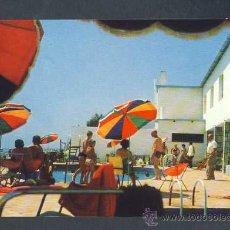 Postales: POSTAL D' ALCANAR (TARRAGONA): HOTEL MONTECARLO. Lote 17592892