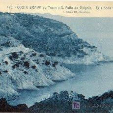 Postales: CALA BONA Y PUNTA DE POLA. COSTA BRAVA DE TOSSA A S. FELIU DE GUIXOLS. Lote 22898852
