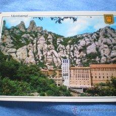 Postales: POSTAL MONTSERRAT MONASTERIO NO CIRCULADA. Lote 17792158