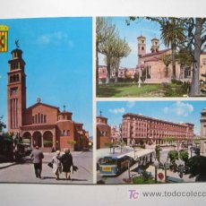 Postales: POSTAL HOSPITALET LLOBREGAT: VARIAS VISTAS. Lote 17913632