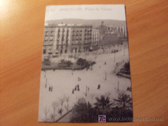 BARCELONA . PLAZA TETUAN . (Postales - España - Cataluña Antigua (hasta 1939))