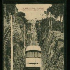 Postales: BARCELONA - TIBIDABO - MISSÈ HNOS. BCN. Lote 18237961